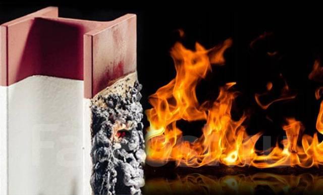 Огнезащитные краски и реальный пожар